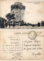 SALONIQUE - La Tour Blanc  - Cachet Militaire Trésor Et Postes 510 (101903) - Griechenland