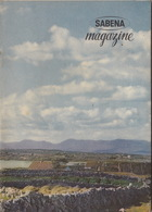 SABENA Magazine Lady Sabena Club Radar Irlande Hélicoptère ... - Vluchtmagazines