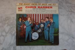 THE MANY FACES OF JAZZ VOL 32 CHRIS BARBER LP   DE 19?? EN BIEM - Jazz