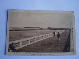 Oostende - Ostende // Stakelsel En Voorhaven - Estacade Et Chenal // Used 1933 - Oostende