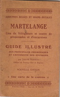 MARTELANGE Guide Carte Pliante - Tourisme