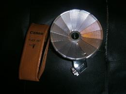 ANCIEN FLASH UNIT  MODEL V  CANON - Supplies And Equipment