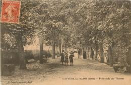 CASTERA Les BAINS - Promenade Des Thermes - Castera