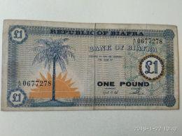 1 Pound 1967 Biafra - Nigeria
