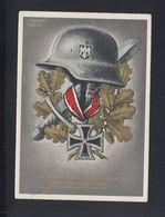 Dt. Reich PK Es Kann Nur Einer Siegen Und Das Sind Wir Adolf Hitler 1939 - Guerre 1939-45