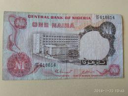 1 Naira 1973 - Nigeria
