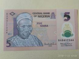 5 Naira 2015 - Nigeria