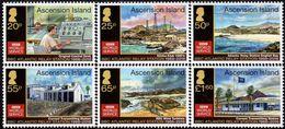 Ascension Island - 2016 - BBC Atlantic Relay Station 50th Anniversary - Mint Stamp Set - Ascension (Ile De L')