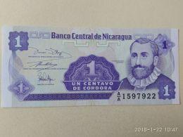1 Centavo 1991 - Nicaragua
