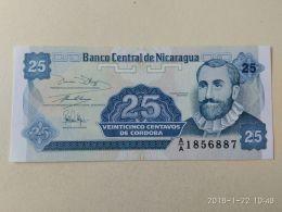 25 Centavos 1991 - Nicaragua
