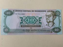 10 Cordobas  1985 - Nicaragua