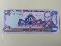 500 Cordobas  1985 - Nicaragua