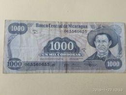 1000 Cordobas  1985 - Nicaragua