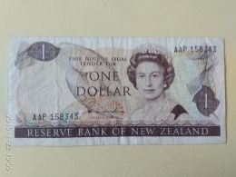 1 Dollaro 1968/75 - Nieuw-Zeeland