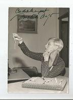 MICHELE MORGAN BELLE PHOTO AVEC AUTOGRAPHE - Autographes