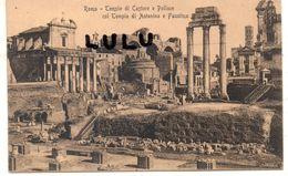 ITALIE : Rome Tempio Di Castore - Autres