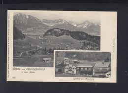Bayern AK Obertiefenbach Gasthof Zur Alpenrose - Deutschland