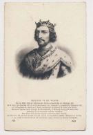 AK24  People - Philippe VI De Valois - Historical Famous People