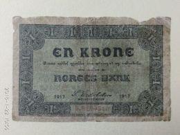 1 Korona 1917 - Norvegia