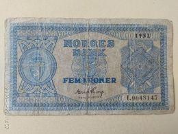 5 Korone 1952 - Norvège
