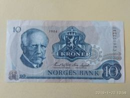 10 Korone 1984 - Norvegia