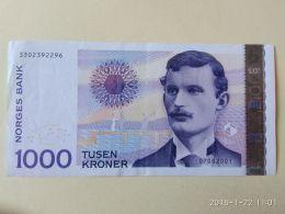 1000 Korone 2001 - Noruega