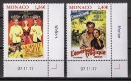 MONACO 2018 - SERIE  (LES FILMS DE GRACE KELLY ) - 2 TP NEUFS ** - Monaco