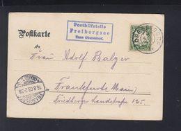 Bayern AK 1903 Posthilfsstelle Freibergsee - Bayern (Baviera)