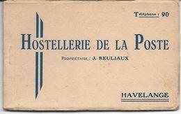 Carnet De 9 Cp De L'Hostellerie De La Poste D'Havelange - Havelange