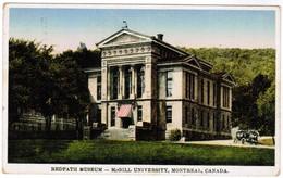 Redpath Museum Mc Gill University Montreal Canada (pk41587) - Montreal