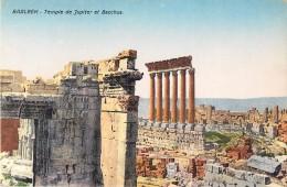 SYRIE - BAALBEK - Temple De Jupiter Et Bacchus - Syria