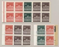 Berlin - 3 Teile Von Markenheftchen - MNH - [5] Berlijn