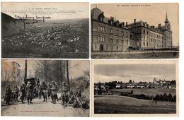 LOT  DE 44 CARTES  POSTALES  ANCIENNES  DIVERS  FRANCE  N47 - Postcards
