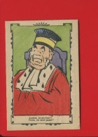 DIJON CLERC PETREMENT DEMONCEAU SEURRE  CHROMO DEVINETTE JARVILLE NANCY JUGE JUSTICE ACCUSE - Trade Cards
