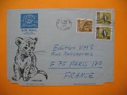 Lettre  Tanzanie - Salaam Aèrogramme Pour La France Le 31/12/1972 - Tanzanie (1964-...)
