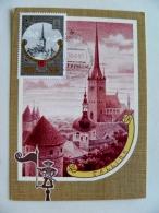 Special Cancel Card Maximum Ussr Olympic Games Olympiad 1980 Moscow Tourism Fdc Tallinn Estonia - 1923-1991 UdSSR