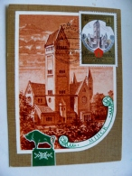 Special Cancel Card Maximum Ussr Olympic Games Olympiad 1980 Moscow Tourism Fdc Castle Minsk Belarus - 1923-1991 UdSSR