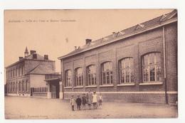 Aulnois: Salle Des Fêtes Et Maison Communale.(Quévy,Hainaut) - Quévy