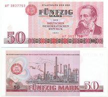 DDR 1971, 50 Mark, Staatsbank DDR, F. Engels, KN 7stellig, Geldschein, Banknote - [ 6] 1949-1990: DDR - Duitse Dem. Rep.