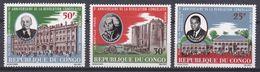 CONGO .1966  YT PA 41/43  3e Anniversaire De La Révolution Congolaise N* MH - Congo - Brazzaville