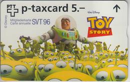 SUISSE - PHONE CARD - TAXCARD-PRIVÉE ***  DISNEY - TOY STORY & SVT  *** - Schweiz