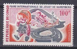 CONGO .1969  YT PA 85 Foire Du Jouet à Nuremberg  N* MH - Congo - Brazzaville