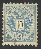 Austria, Offices In Turkey, 10 S. 1883, Sc # 11, Mi # 11A, Used. - Levante-Marken