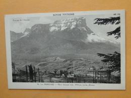 LES MARCHES  (Savoie) -- Vue D'ensemble - Mont Granier Et Les Abimes - Frankreich