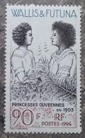 Wallis Et Futuna - YT N°466 - Princesses Ouvéennes En 1903 - 1994 - Neuf - Wallis And Futuna