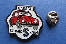 Pin's, Auto, Voiture, VW, Garage Schmid Rain, Suisse - Volkswagen