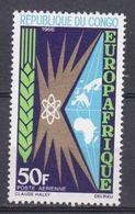 CONGO .1966  YT PA 40  3 Ans Europafrique  N* MH - Congo - Brazzaville