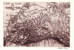 MARSEILLE----MARSEILLEVEYRE - Quatieri Sud, Mazarques, Bonneveine, Pointe Rouge, Calanques