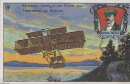 Chromos - ChicoréePaul Mairesse Cambrai - Aviation -Aviateur Bruneau Varilla Traverse La Bièvre - Tea & Coffee Manufacturers