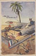 Aviation - Humour - Colonial - Armée De L'Air - Non Classés